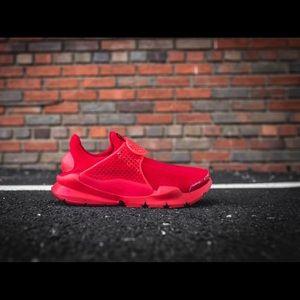 Mint Nike Sock Dart Triple Red Mens Sz 11 Worn 1x